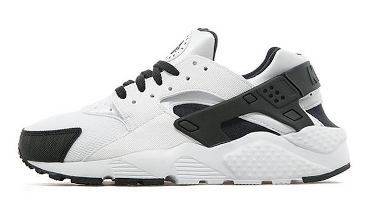 b8d3870fdd Nike Air Huarache GS White/Black–Anthracite Available Now   Nice Kicks