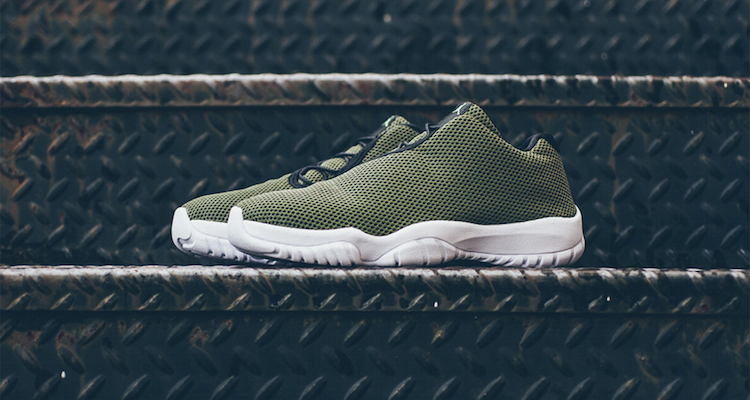 official photos 1de86 aca79 ... denmark the jordan future low faded olive is available now bbbd9 fbe23