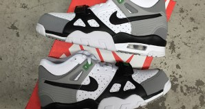 The Nike Air Trainer III GS Chlorophyll Is Available Now