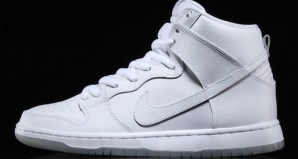 """d43135ac14d The Nike SB Dunk High Pro """"White"""" Is Available Now"""