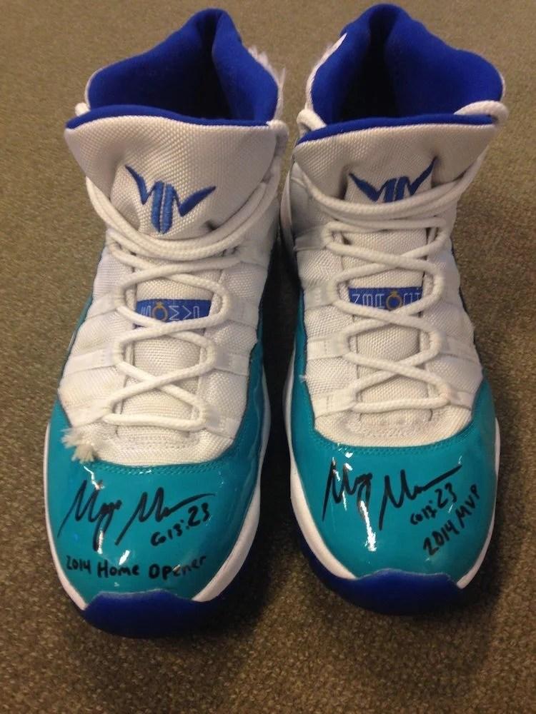 Maya Moore s Worn   Signed Air Jordan 11 PE Charity Auction Is at  5 eb69c1281