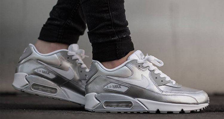 new products 117aa 51155 Nike Air Max 90 GS