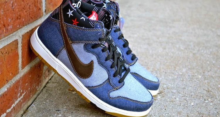 "newest collection 64d4e 04e78 Nike Dunk High CMFT Denim ""Blue"" Available Now"