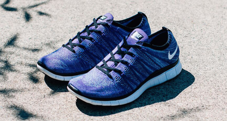 timeless design 5673a 7d3a1 Nike Free Flyknit NSW Court Purple White Available Now