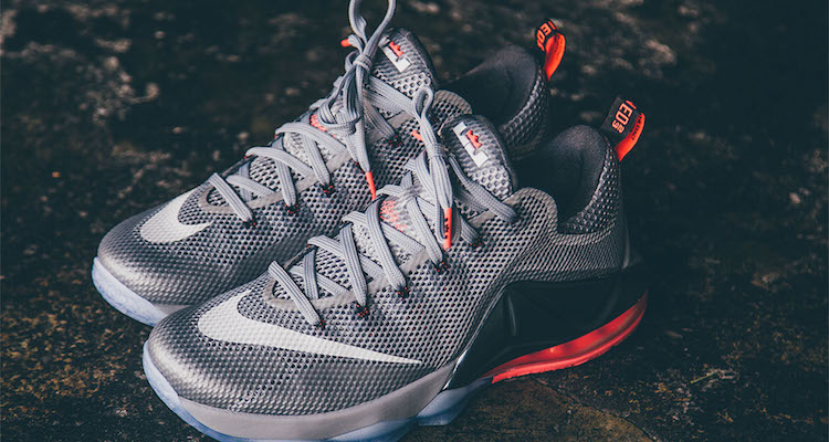 """premium selection 6f400 f4ddc Nike LeBron 12 Low """"Wolf Grey"""" Release Date"""