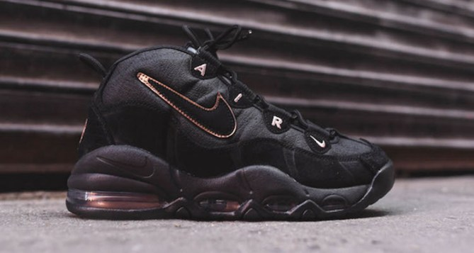 Nike Air Max Uptempo Black/Copper Available Now