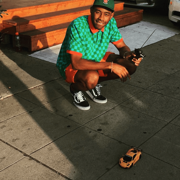 Tyler, the Creator in the Vans Old Skool
