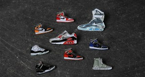 Pin Drop NYC's Sneaker-Inspired Pins