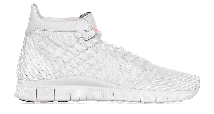 "official photos 0a096 49929 Nike Free Inneva Woven Mid SP ""White"" Available Now"