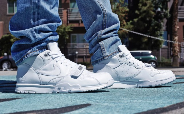 """huge sale bf279 0a948 On-Foot Look    Fragment x Nike Air Trainer 1 """"US Open"""" Pack Pt. 2"""