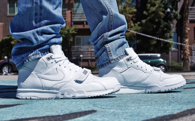 """huge sale f1ad8 727d8 On-Foot Look    Fragment x Nike Air Trainer 1 """"US Open"""" Pack Pt. 2"""
