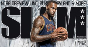 LeBron James debuts 2 colorways of Nike LeBron 13 in SLAM