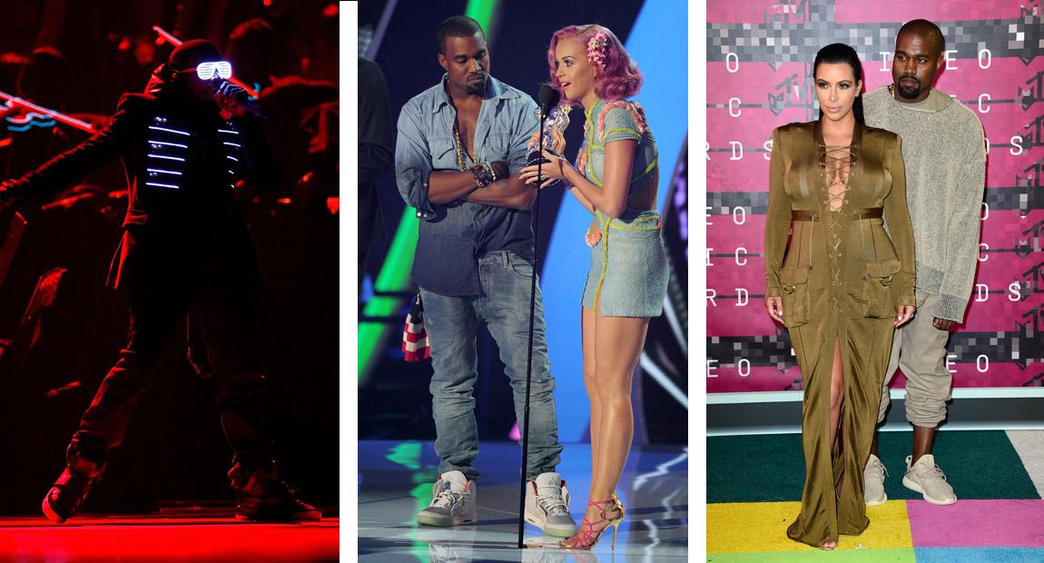 fd7b3636823d8 Celebrity Sneaker Stalker Spotlight    A History of Yeezy Debuts ...