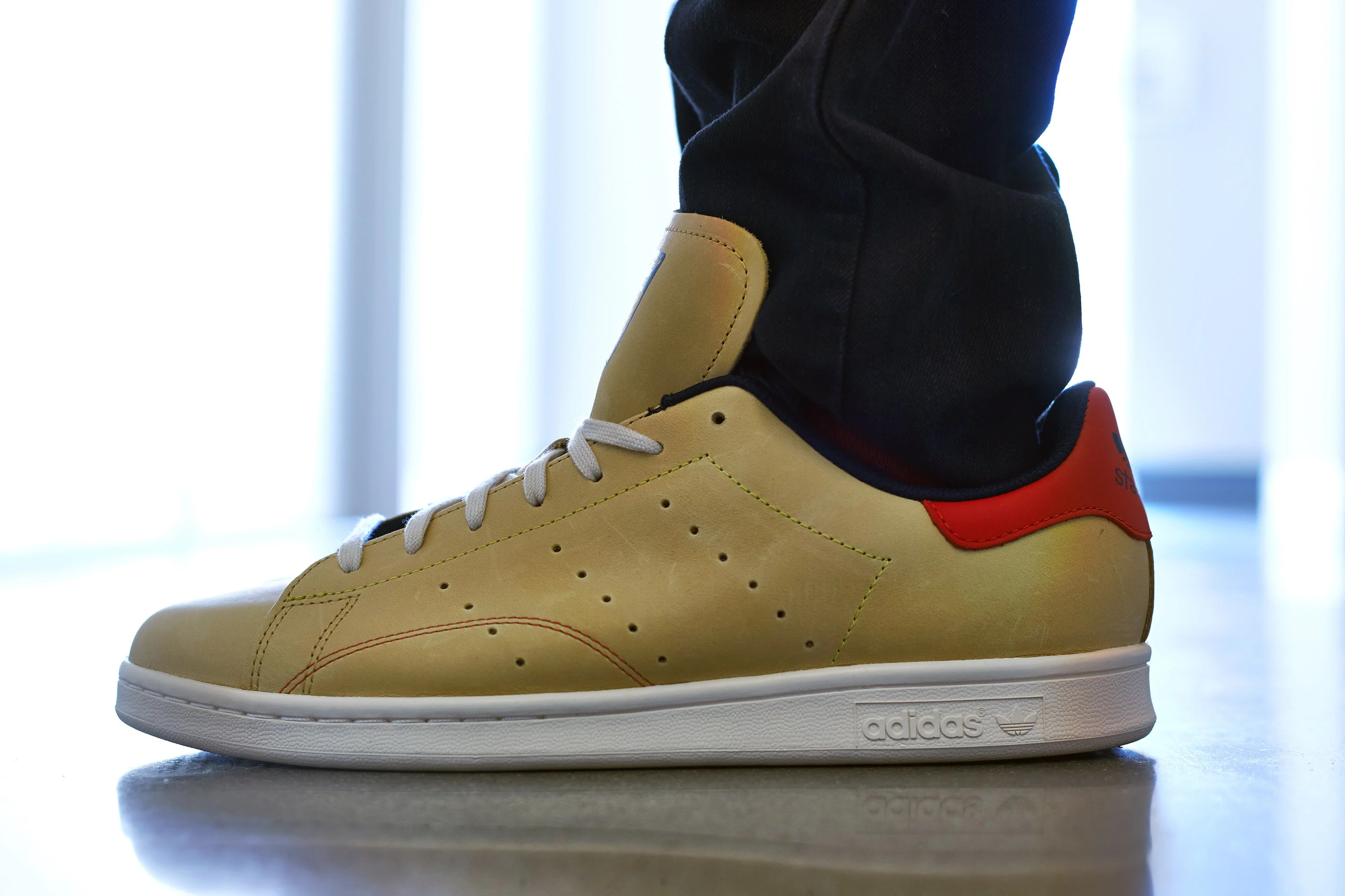 Mark McNairy x la fourness x Adidas Stan Smith Nice kicks