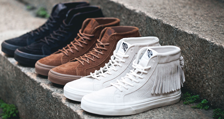 5bc35229a2 Vans Sk8-Hi Suede Moccasin Fall Winter 2015 Collection