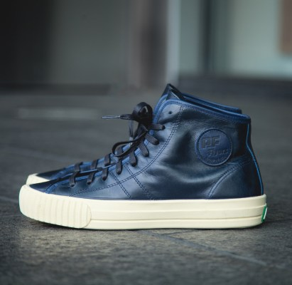 "9ff4f0ab4e6423 The Tanner Goods x PF Flyers ""Made In The USA"" Center Hi Releases Today"