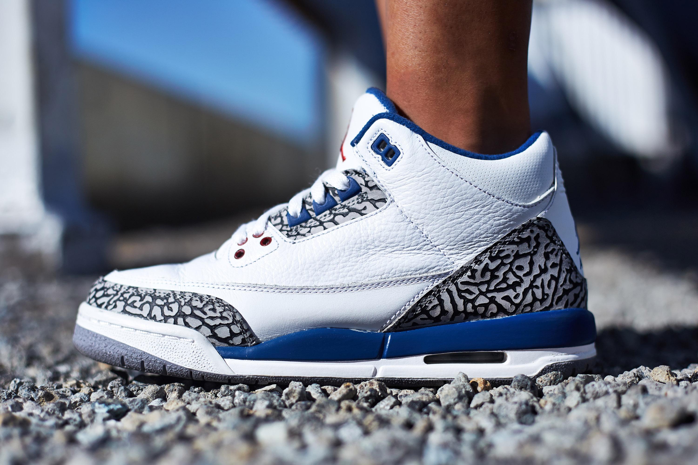 wholesale dealer b95e8 94609 On-Foot Look  TBT Edition    Air Jordan 3