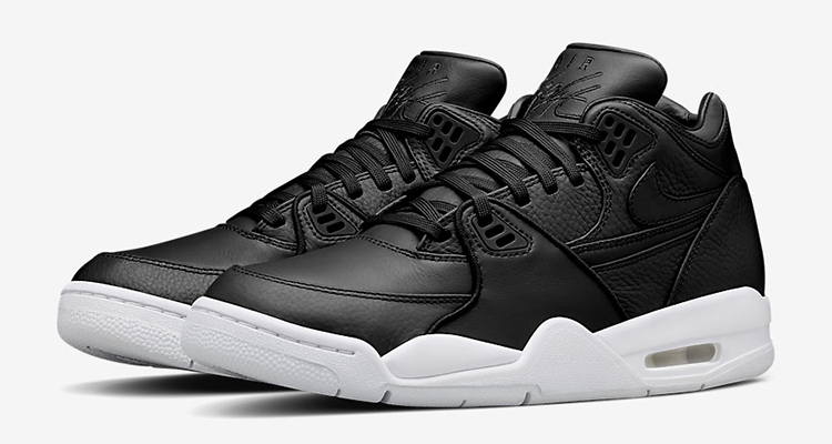 daac883e2d NikeLab Air Flight '89 Black/White | Nice Kicks