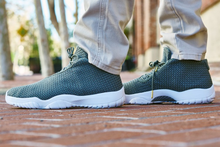 "a63814aa41e5ad On-Foot Look    Jordan Future Low ""Faded Olive"""