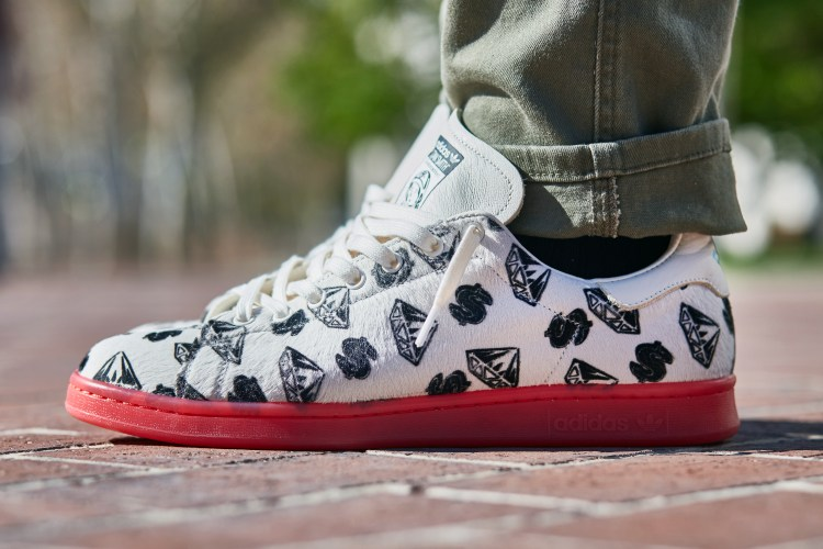 3159eabfbef62 BBC x adidas Stan Smith On-Foot Look