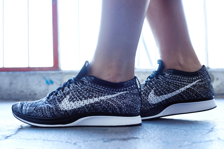 On Foot Look Nike Flyknit Racer