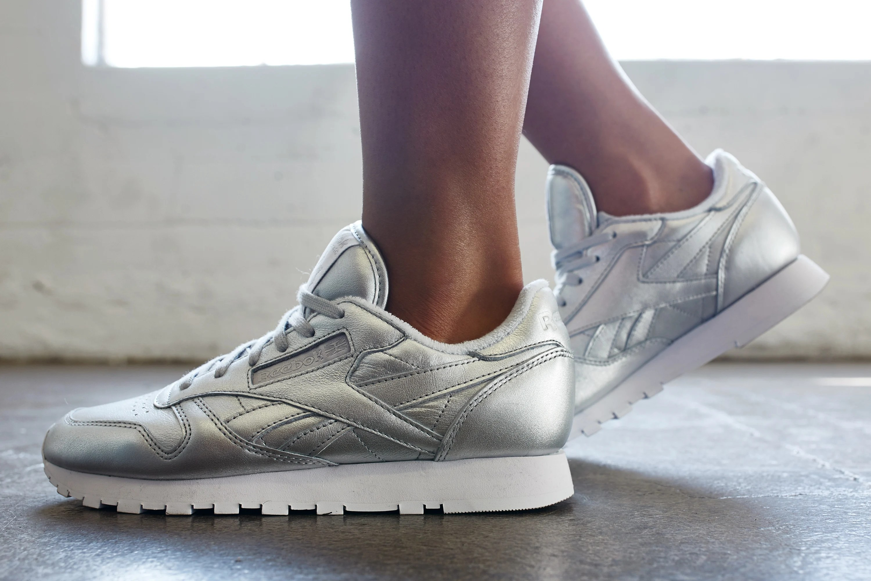 10574fe4f423f On-Foot Look    FACE Stockholm x Reebok Classic Leather