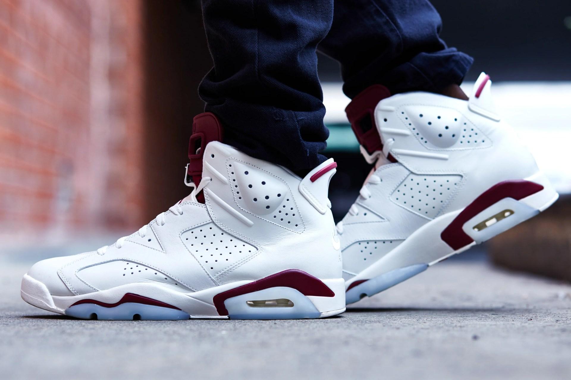 2798f65ebf1a79 On-Foot Look    Air Jordan 6