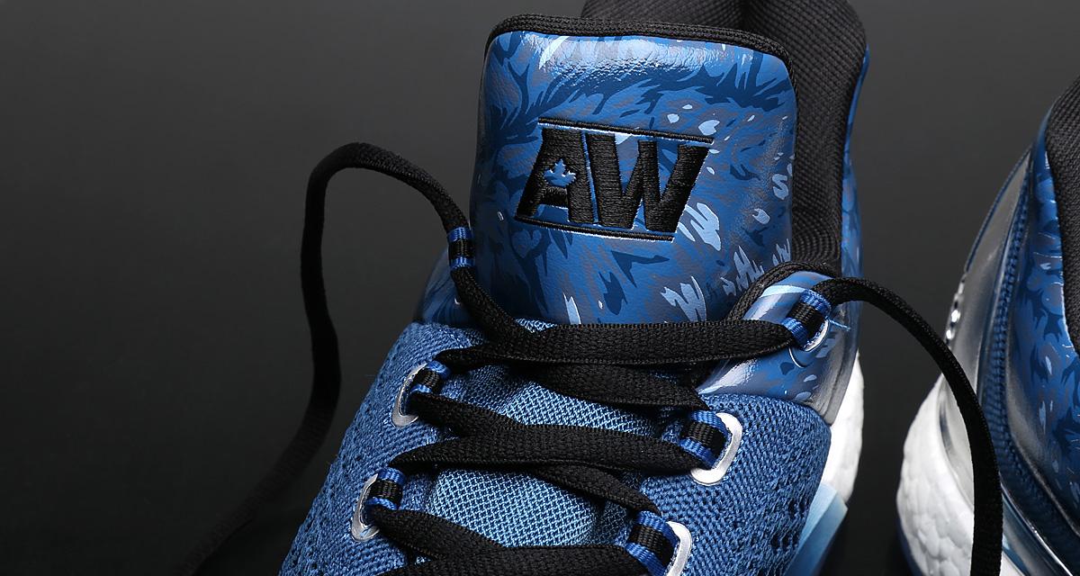 "quality design de489 9f7a6 Exclusive  Andrew Wiggins adidas Crazylight Boost 2015 ""Metallic"" PE"