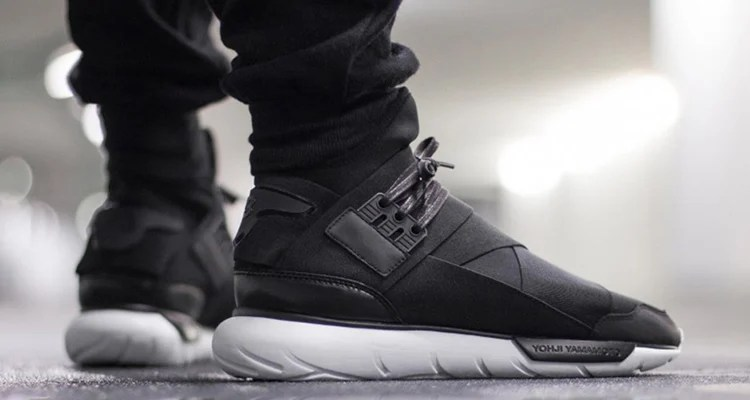 dc326afd3 The adidas Y-3 Qasa High Black White Drops Later This Month