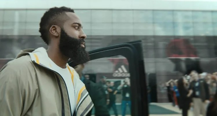 """separation shoes 5f6e7 4c9a2 Check Out James Harden s First adidas Spot  """"Creators Never Follow"""""""
