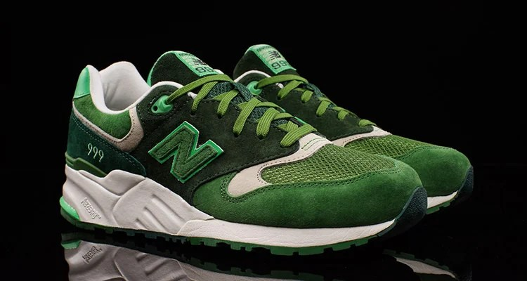 The New Balance 999 Shines in Shades of Green | Nice Kicks