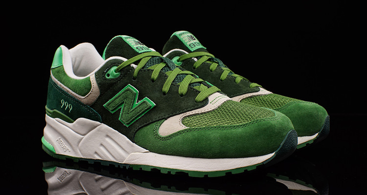 sports shoes 8cfab 9916a The New Balance 999 Shines in Shades of Green | Nice Kicks
