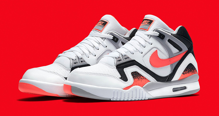 "best sneakers 4e908 c31e0 The Nike Air Tech Challenge II ""Hot Lava"" Returns Next Week"