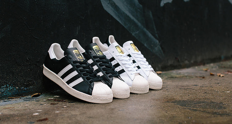 half off 57750 a475c These adidas Superstar 80s DLX Pairs Drop Tomorrow