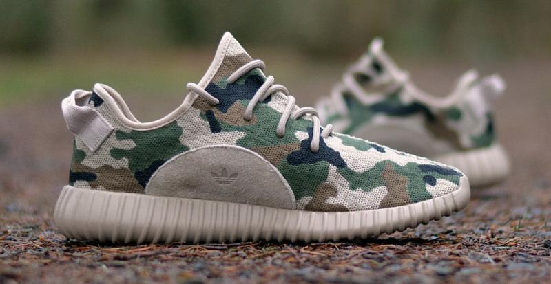 Adidas Yeezy Boost 350 va Camo en nueva costumbre Nice kicks