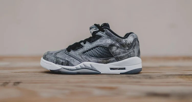 designer fashion 3986e 42f38 Another Look at the Air Jordan 5 Low Cool Grey/Wolf Grey ...