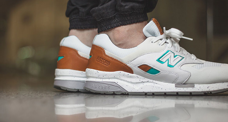 competitive price 15591 3590f Available Now // New Balance CM 1600 White/Teal | Nice Kicks
