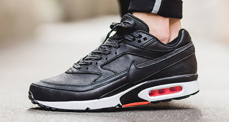The Nike Air Classic BW Gets Premium Black Leather Update