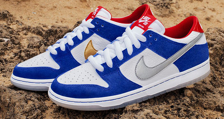 timeless design b820f a2f8f Ishod Wair Gets Nike SB Dunk Low Inspired by His Old School ...