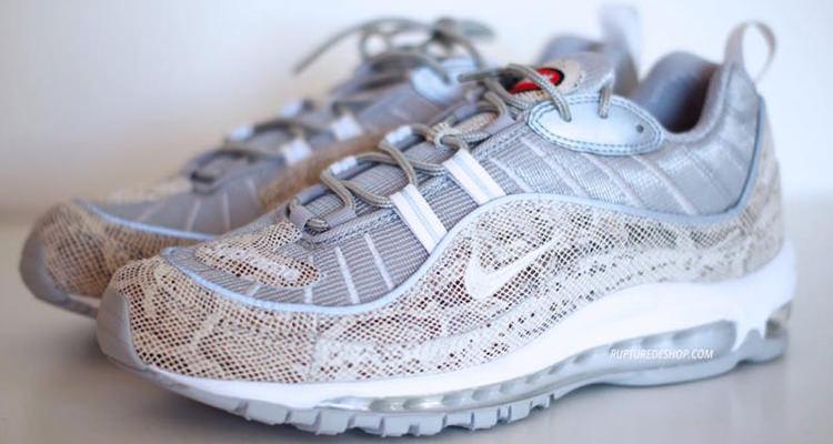 A Closer Look at the Upcoming Supreme x Nike Air Max 98 Pack