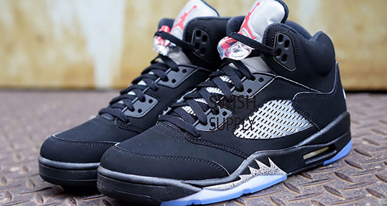 9ff8979c824d2e The Air Jordan 5 Black Metallic Silver with Nike Air is Coming This Summer