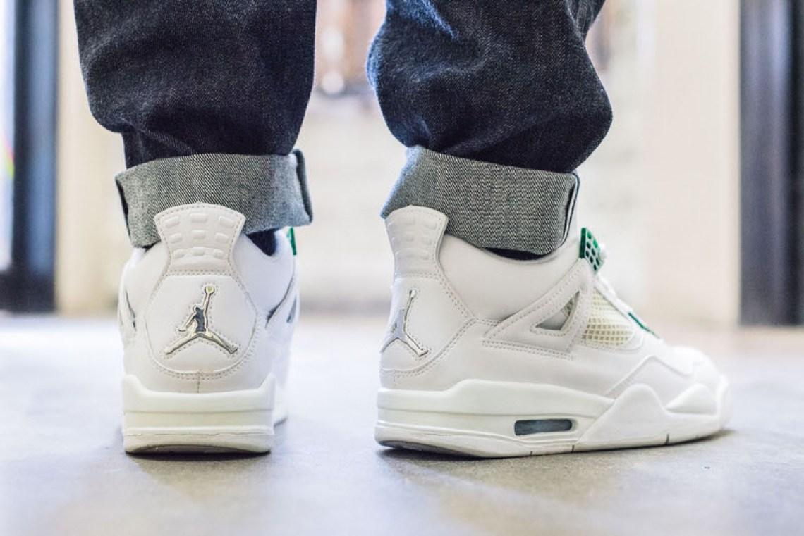 992cc655ede On-Foot Look #TBT Edition // Air Jordan 4