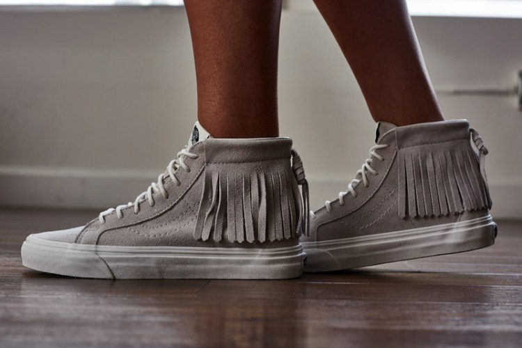 "Vans Sk8-Hi Moc ""Blanc de Blanc"" On-Foot Look"