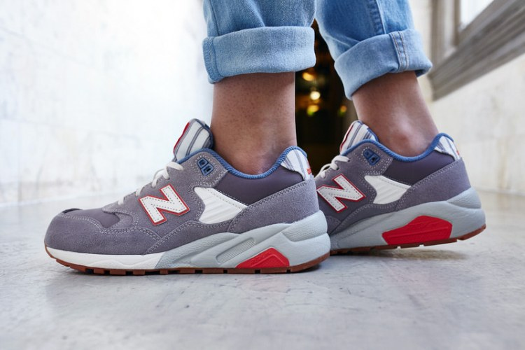 "New Balance 580 ""Seaside Hideaway"" Grey On-Foot Look"