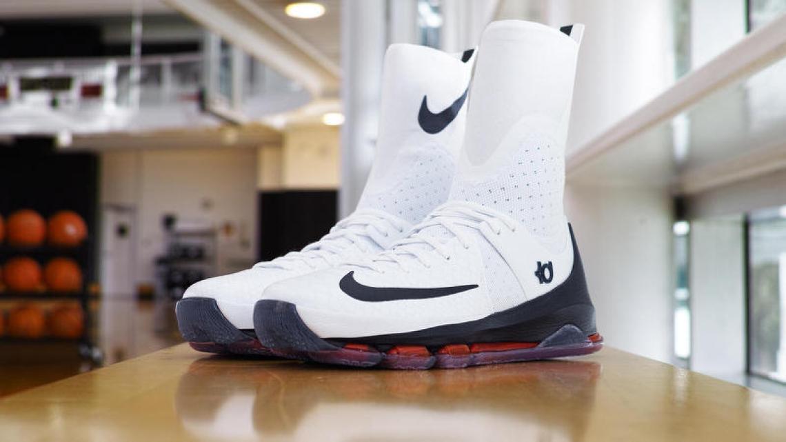 quality design 223a3 ce413 Nike KD 8 Elite UCONN PE