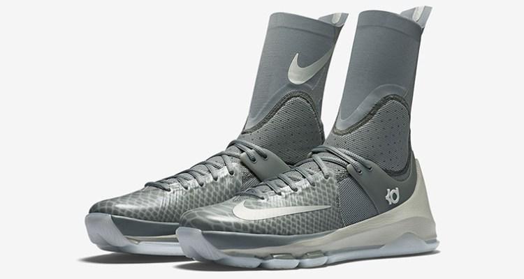 newest bcf55 866ed Nike KD 8 Elite Grey