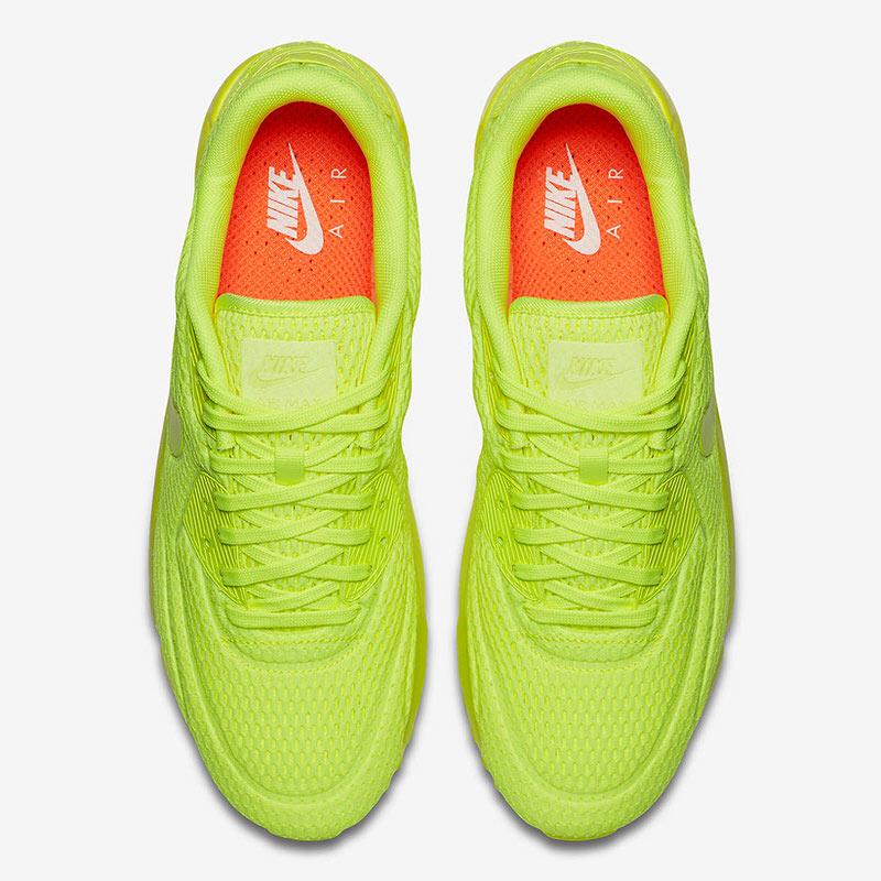 Nike Air Max 90 Ultra Breathe VoltVolt Volt 725222 700