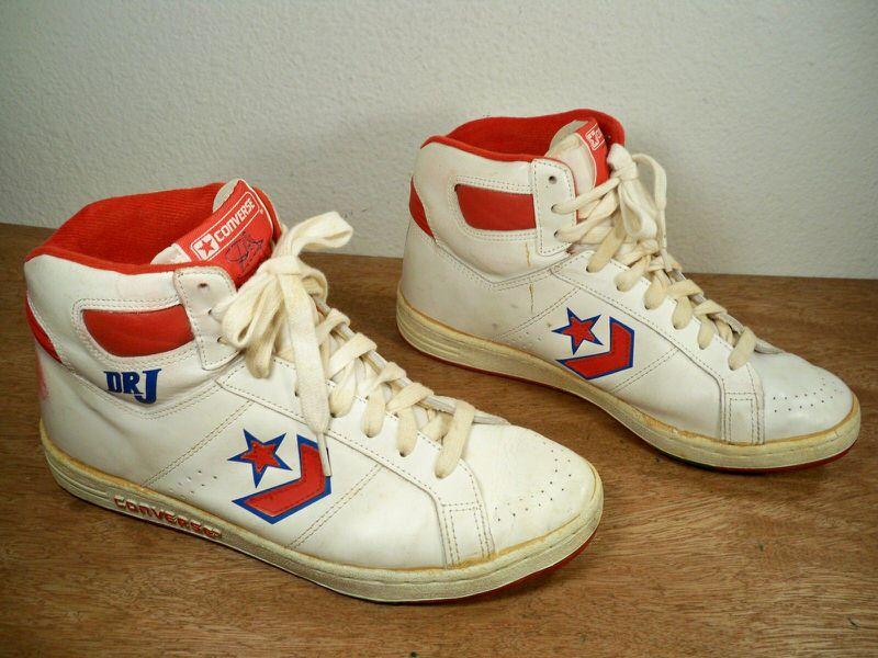 dr j converse shoes