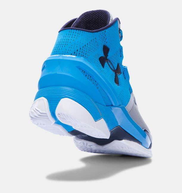 Under Armour Curry Two Electric Blue