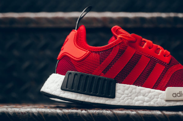 Adidas NMD R1 Monochrome Pack Solar Red (#1131987) from